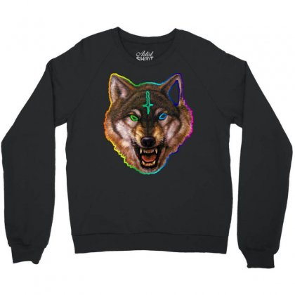 Golf Wolf Crewneck Sweatshirt Designed By Killakam