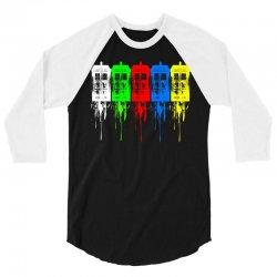 tardis dr who 3/4 Sleeve Shirt | Artistshot