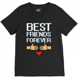 Best Friends Forever V-Neck Tee   Artistshot