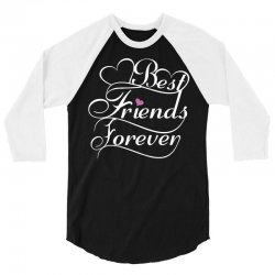 Best Friends Forever For Her 3/4 Sleeve Shirt   Artistshot