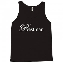 Best Man White Tank Top | Artistshot