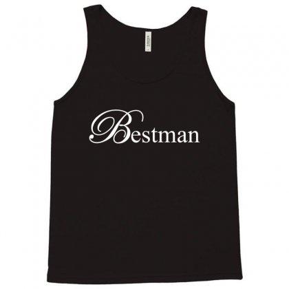 Best Man White Tank Top Designed By Tshiart
