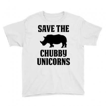 Save The Chubby Unicorns Youth Tee Designed By Tshiart