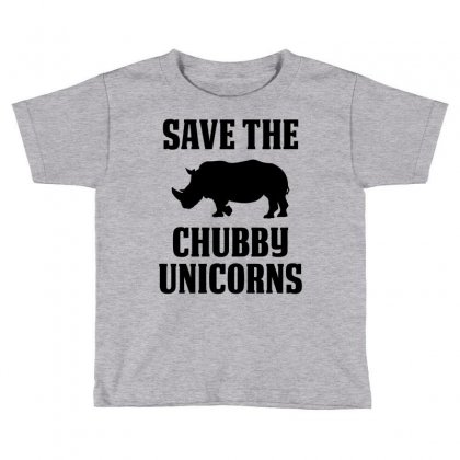 Save The Chubby Unicorns Toddler T-shirt Designed By Tshiart