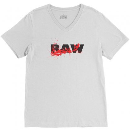 Raw V-neck Tee Designed By Sbm052017