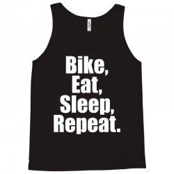 Bike Eat Sleep Repeat Tank Top | Artistshot