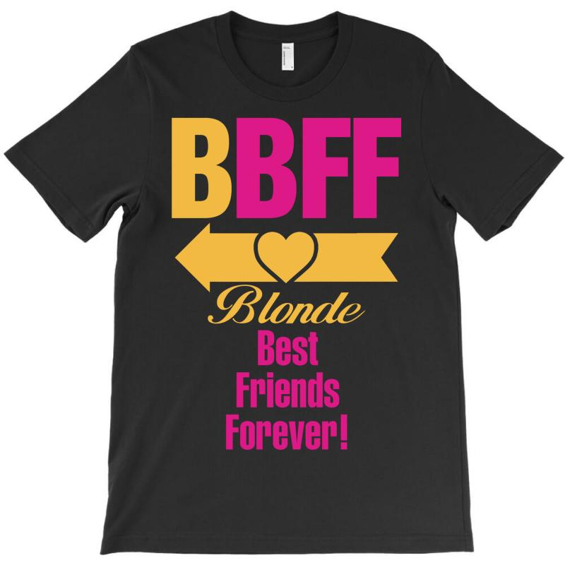 Blonde Best Friend Forever Left Arrow. T-shirt | Artistshot