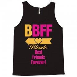 Blonde Best Friend Forever Left Arrow. Tank Top | Artistshot