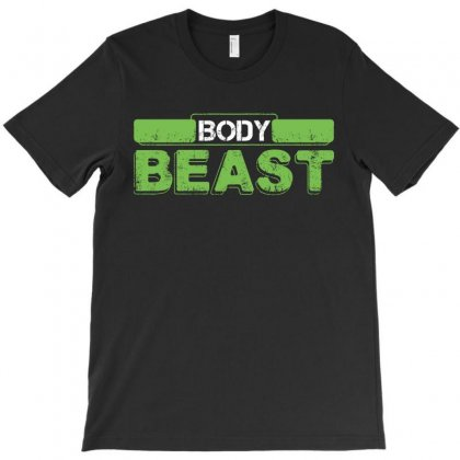 Body Beast T-shirt Designed By Tshiart