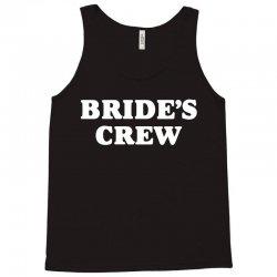 Bride's Crew Tank Top   Artistshot
