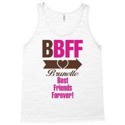 Brunette Best Friends Forever Tank Top   Artistshot