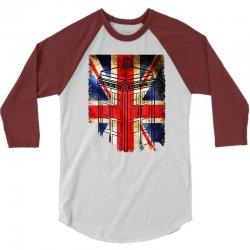 tardis British flag 3/4 Sleeve Shirt   Artistshot