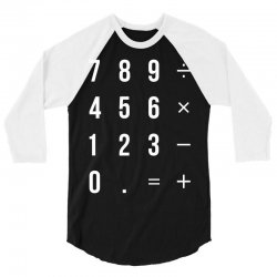 Calculator 3/4 Sleeve Shirt | Artistshot