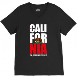 California V-Neck Tee | Artistshot