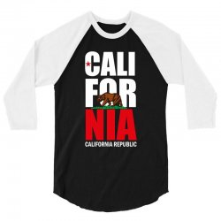 California 3/4 Sleeve Shirt | Artistshot