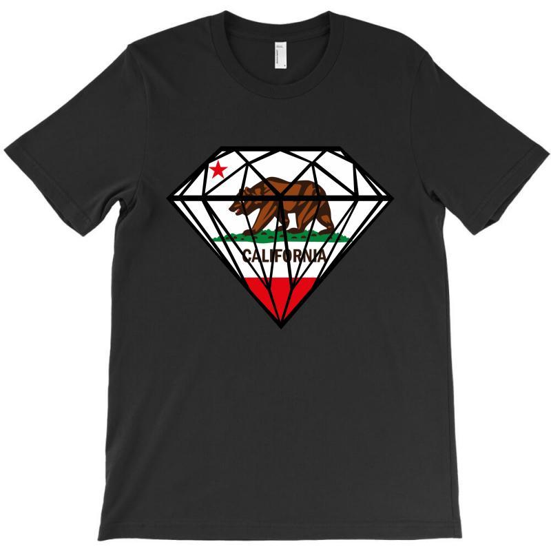 California Diamond T-shirt | Artistshot
