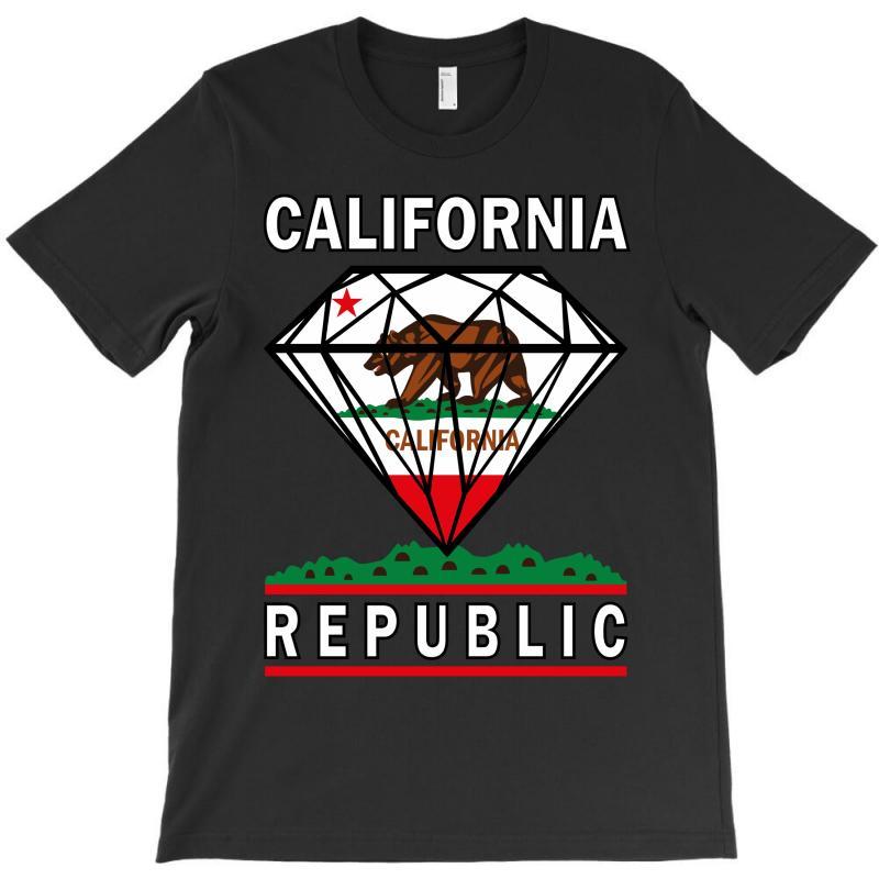 California Diamond Republic T-shirt | Artistshot