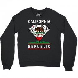 California Diamond Republic Crewneck Sweatshirt | Artistshot