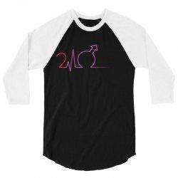 Cardio 24 Black 3/4 Sleeve Shirt   Artistshot