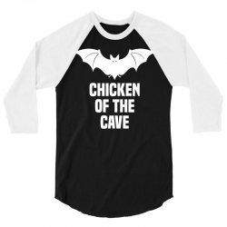 Anchorman 2 - Chicken Of The Cave 3/4 Sleeve Shirt | Artistshot