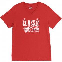 Classic Since 1950 V-Neck Tee | Artistshot