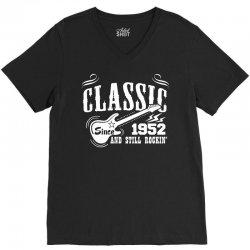 Classic Since 1952 V-Neck Tee   Artistshot