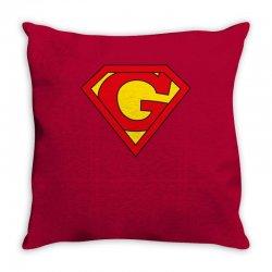 g Throw Pillow   Artistshot