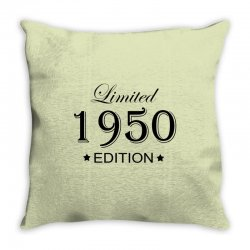limited edition 1950 Throw Pillow | Artistshot