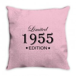 limited edition 1955 Throw Pillow | Artistshot