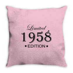 limited edition 1958 Throw Pillow | Artistshot
