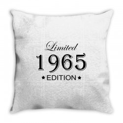 limited edition 1965 Throw Pillow | Artistshot