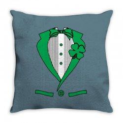 irish-suit Throw Pillow   Artistshot