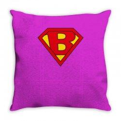 b Throw Pillow | Artistshot