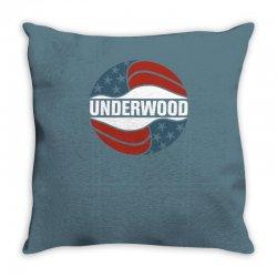 ,Underwood Throw Pillow | Artistshot