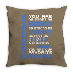 DADDY - Fathers Day - Gift for Dad Throw Pillow | Artistshot