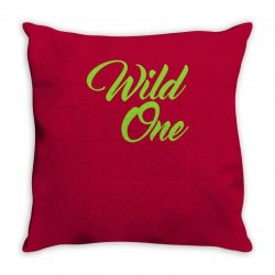 Wild One Throw Pillow | Artistshot