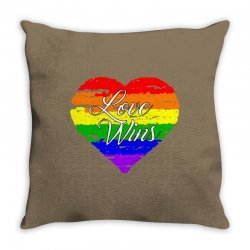 Love Wins One Pulse Orlando Strong Throw Pillow | Artistshot