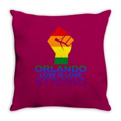 Love Is Love, Orlando Strong Throw Pillow | Artistshot
