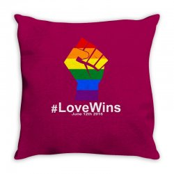 Love Wins 12th 2016 - Orlando Strong Throw Pillow | Artistshot