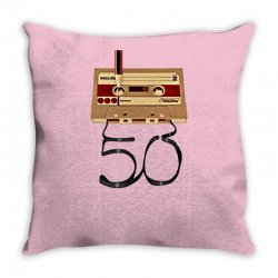 music tape retro Throw Pillow | Artistshot