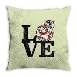 love bb Throw Pillow   Artistshot
