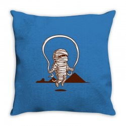 Funny Mummy Sport Throw Pillow | Artistshot