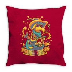 FUNNY ZODIAC SIGNS CAPRICORN Throw Pillow | Artistshot