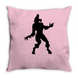 werewolf dancing Throw Pillow | Artistshot