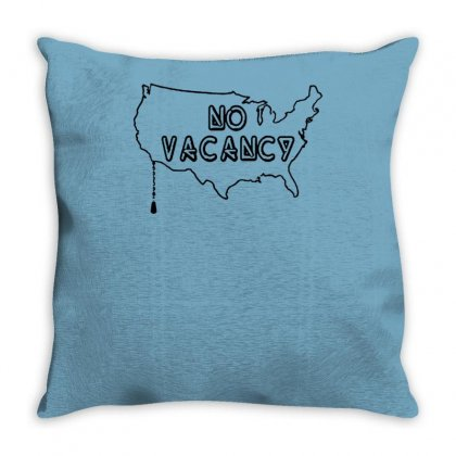 No Vacancy Throw Pillow Designed By Tonyhaddearts