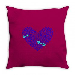 love gym Throw Pillow | Artistshot