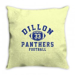 DILLON PANTHERS FOOTBALL Throw Pillow | Artistshot