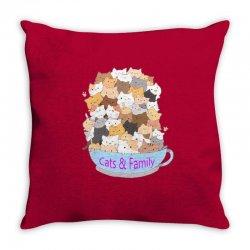 Cats Throw Pillow | Artistshot