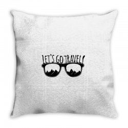 Let's go the Travel Throw Pillow | Artistshot