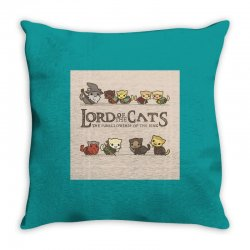 Lord Of The Cats Throw Pillow | Artistshot